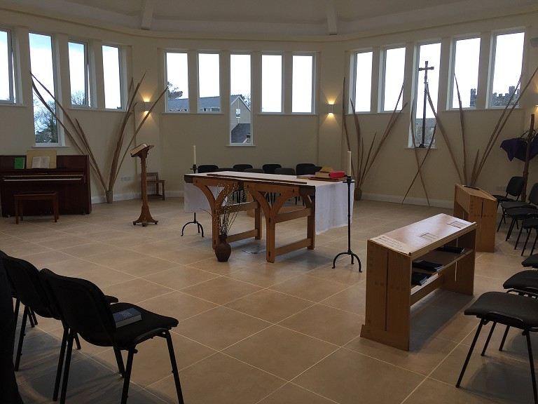 First Sunday in the New Priory Chapel