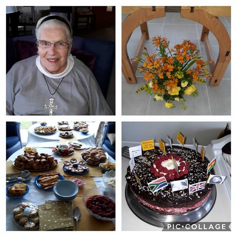 Sr Caroline's Golden Jubilee of Profession